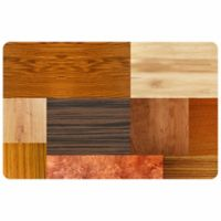 The Softer Side by Weather Guard™ 23-Inch x 36-Inch Exotic Woods Kitchen Mat