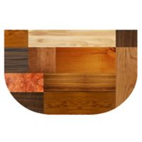 The Softer Side by Weather Guard™ 24-Inch x 40-Inch Exotic Woods Kitchen Mat
