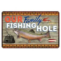 The Softer Side by Weather Guard™ 23-Inch x 26-Inch Family Fishing Kitchen Mat