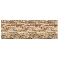 The Softer Side by Weather Guard™ 25-Inch x 60-Inch Flat Rock Path Kitchen Mat