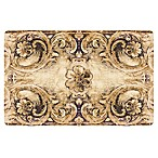 The Softer Side by Weather Guard™ 18-Inch x 27-Inch Flourish Bronze Kitchen Mat