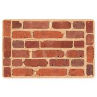 The Softer Side by Weather Guard™ 23-Inch x 36-Inch Framed Brick Kitchen Mat