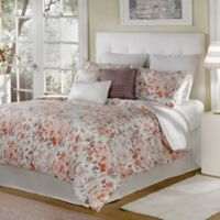 Bed Inc. Antoinette Queen Comforter Set in Orange