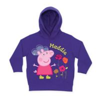 Peppa Pig Pretty Toddler Size 4T Hoodie in Purple
