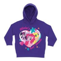 My Little Pony Size 5-6T Best Friends Hoodie in Purple