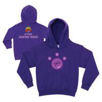 Wild Kratts Size 6-8 Kangaroo Power Zip-Front Hoodie in Purple