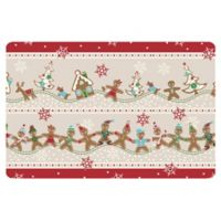 The Softer Side by Weather Guard™ 23-Inch x 36-Inch Ginger Village Kitchen Mat