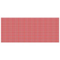 The Softer Side by Weather Guard™ 25-Inch x 60-Inch Gingham Kitchen Mat in Red