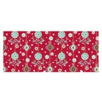 The Softer Side by Weather Guard™ 25-Inch x 60-Inch Holiday Ornaments Kitchen Mat