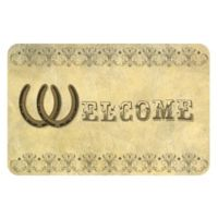 The Softer Side by Weather Guard™18-Inch x 27-Inch Horseshoe Welcome Kitchen Mat