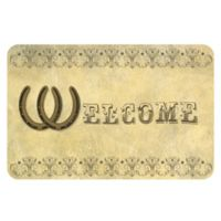 The Softer Side by Weather Guard™ 23-Inch x 36-Inch Horseshoe Welcome Kitchen Mat