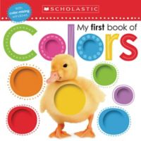 """""""My First Book of Colors"""" Board Book"""