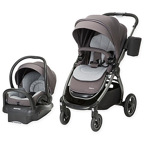 Maxi Cosi 174 Adorra Travel System Charcoal Frame In Loyal