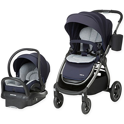 Maxi Cosi 174 Adorra Travel System Charcoal Frame In