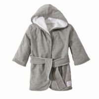 Burt's Bees Baby Organic Knit Terry Robe in Grey
