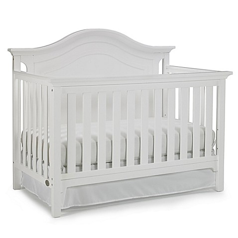Ti Amo Catania 4 In 1 Convertible Crib In Snow White