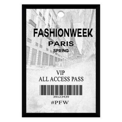 by jodi fashion week pass paris highgloss white aluminum wall art