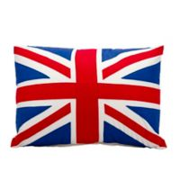 Mina Victory British Flag Oblong Throw Pillow