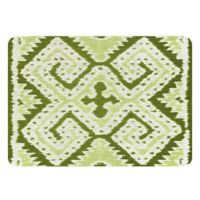The Softer Side by Weather Guard™ 23-Inch x 36-Inch Ikat Wrap Kitchen Mat in Green