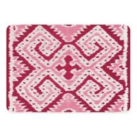 The Softer Side by Weather Guard™ 18-Inch x 27-Inch Ikat Wrap Kitchen Mat in Red