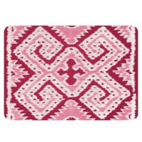 The Softer Side by Weather Guard™ 23-Inch x 36-Inch Ikat Wrap Kitchen Mat in Red