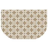 The Softer Side by Weather Guard™ 24-Inch x 40-Inch Interlink Kitchen Mat in Natural