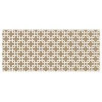 The Softer Side by Weather Guard™ 25-Inch x 60-Inch Interlink Kitchen Mat in Natural