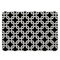 The Softer Side by Weather Guard™ 23-Inch x 36-Inch Interlink Kitchen Mat in Black