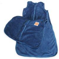 Gunamuna Gunapod® Small Plush Fleece Wearable Blanket with WonderZip® in Blue