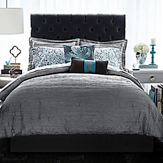 christian siriano relaxed crinkle comforter set - bed bath & beyond