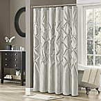 Madison Park Laurel 72-Inch x 72-Inch Shower Curtain in Grey