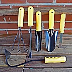Bosmere Set of Six Hand Tools in Yellow