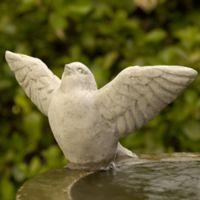 Campania Flutter Garden Statue in Verde