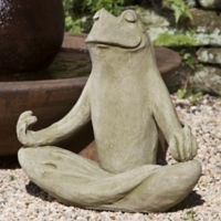 Campania 18-Inch Totally Zen Too Statue in English Moss