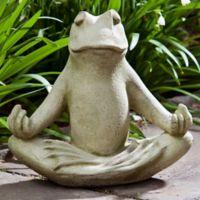 Campania 12-Inch Totally Zen Too Statue in English Moss