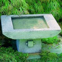 Campania Kyoto Birdbath in Alpine Stone