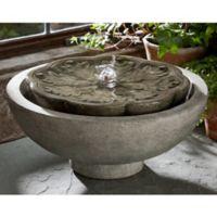 Campania Mini-Series Flores Fountain in Alpine Stone