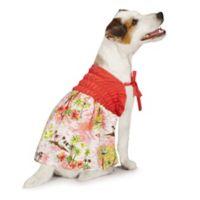 Casual Canine Small Hawaiian Breeze Cotton Sundress
