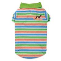 Casual Canine Small Hawaiian Breeze Cotton Camp Shirt