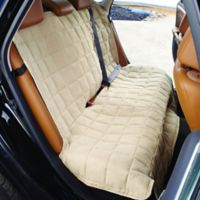Sure Fit® Large Waterproof Soft Suede Bench Seat Cover in Taupe