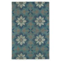 Kaleen Montage Floral 2-Foot x 3-Foot Accent Rug in Grey