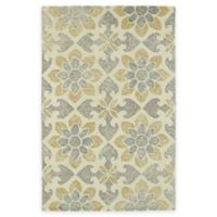 Kaleen Montage Floral 2-Foot x 3-Foot Accent Rug in Ivory