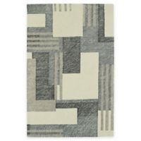 Kaleen Montage Boxes 5-Foot x 7-Foot Area Rug in Ivory