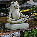 Campania 9-Inch Totally Zen Too Statue in English Moss