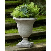 Campania Linwood Urn Planter in Alpine Stone