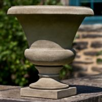 Campania Mt. Airy Urn Planter in Alpine Stone