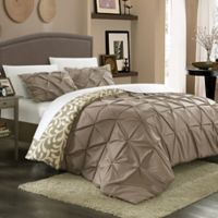 Chic Home Tirina 7-Piece Reversible Duvet Cover Set