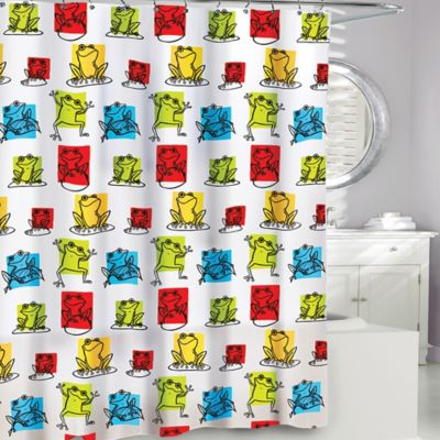 Wonderful Frog Shower Curtains From Bed Bath Beyond