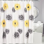 Blossum Fabric Shower Curtain