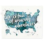 Adventures I Canvas Wall Art